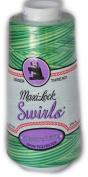 Maxi Lock Swirls Mint Julep Serger Thread 53-M54