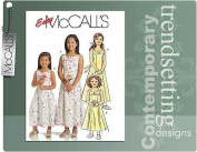 McCall's 5309 Sewing Pattern Girls Special Occaision Dresses Makes sizes 7-8-10-12-14