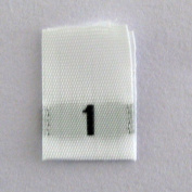 Size 1 Clothing Label Tabs