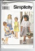 SIMPLICITY CHILD'S PATTERN 8891- SIZE AA