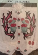 Cactus Flower - Easy Iron-On Patterns by Glenda Betz