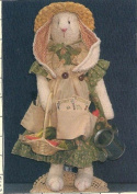 Ginnie Greenthumb Garden Bunny Sewing Pattern #118