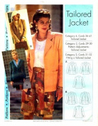 Step by Step Sewing Pattern Tailored Jacket Size 4 - 22