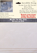 4 Ultra Thin Backing Patches - Super Strong Iron on Jean Patch