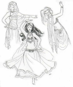 Sirane's Skirts and Salome's Veils Pattern