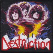 DESTRUCTION-ETERNAL DEVASTATION- WOVEN PATCH