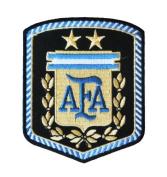 ARGENTINA SOCCER SHIELD PATCH