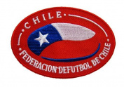 CHILE SOCCER SHIELD PATCH