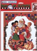 Daisy Kingdom Iron-On Transfer All Santa's Children #0116-08007