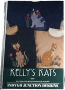 Kelly's Kats Pattern for No Sew Applique Designs Indygo Junction Designs 531