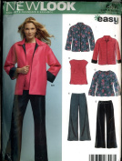New Look Easy 17 Piece Size A 10-22 Pants, Jacket, Blouse