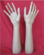 14.6 Inch 37cm Female Right Hand Mannequin Jewellery Display Stand Model Dummy Torso