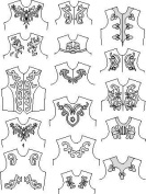 Suitability 6360 Scrolls and Other Appliques Equestrian Sewing Pattern
