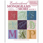 Leisure Arts-Embroidered Monograms And More