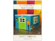 Empty Bobbin Sewing Studio Card TablePlayhousePtrn