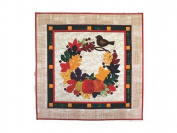 """Cherry Blossoms """"Autumn Bliss"""" Quilted Wall Hanging Pattern and Instructions"""