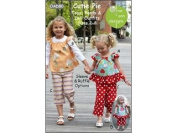 Cutie Pie Tops, Pants & Doll Outfits size 2-8 OAD80 By Olive Ann Designs Pattern