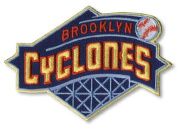 Brooklyn Cyclones Primary Team Logo Patch