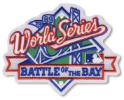 1989 MLB World Series Logo Patch 'Battle of the Bay'