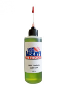 Liberty Oil, the Best 100% Synthetic Oil for Lubricating All Moving Parts of your Sewing Machine. Large 120ml Bottle.