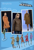 Simplicity 2812 Project Runway Misses' Lined Coat in 2 Lengths and Jacket with Collar Variations, Size D5