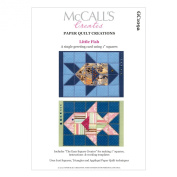 McCall's Creates W10610 Paper Quilt Creations Craft Pattern, Little Fish Greeting Card