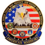 American Warriors 13cm Patch