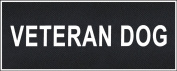 """Veteran Dog"" Medium nylon hook and loop patches by Dean & Tyler."