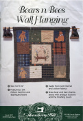 Bears n Bees Wall Hanging Pattern by Kathy Pace