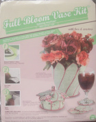 Dritz Full Bloom Vase Kit (An InnerFuse Kit) with Box and Coasters