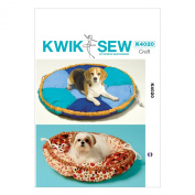 KWIK-SEW PATTERNS K4020 Pet Bed Sewing Template, One Size