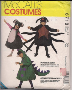 McCall's 6718 Costumes Pot Belly Babes Costumes for kids sizes 2-8.