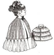 Mantelet or Short Cape Pattern