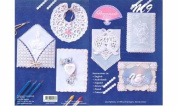 Ecstasy Crafts White Embossing Booklet M9
