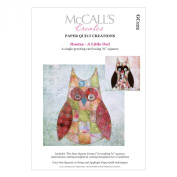 McCall's Creates W10619 Paper Quilt Creations Craft Pattern, Hootee-A Little Owl Greeting Card