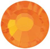 Mode Beads Preciosa Crystal Flatbacks Rhinestone, Orange