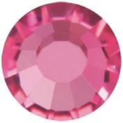 Mode Beads Preciosa Crystal Rhinestone Flatbacks, Fuchsia