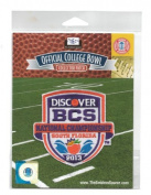 2013 BCS National Championship Patch - Notre Dame vs Alabama
