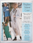 Raglan Sleeve Jacket Shirt Top Sewing Pattern Easy 4-22 by Step By Step