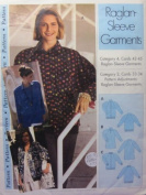 Sewing Step-by-Step Raglan-Sleeve Garments Sewing Pattern Size 4-22