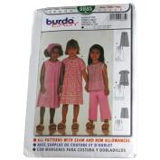 Burda 9885 Pattern Child's Dress & Top Sizes 2,3,4,5,6