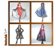 Butterick Sexy Goth/vampire Costume Sewing Pattern #B4633