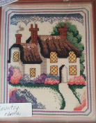 Country Home Counted Cross Stitching Craft Kit