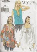 Vogue V8249, Misses' Tunic, Size FW