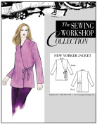 The Sewing Workshop New Yorker Jacket Sewing Template, Multi-Size