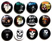 MISFITS (1) comedy fan Awesome Quality Lot 12 New Pin Pinback Button Badge 3.2cm