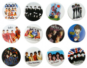 THE BEATLES (1) Awesome Quality Lot 12 New Pins Pinback Buttons Badge 3.2cm