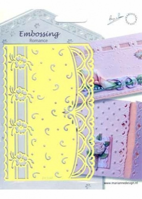 Ecstasy Crafts Embossing Romance - Swirls (Eh1841)