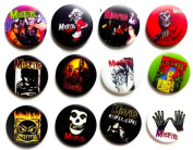MISFITS (2) comedy fan Awesome Quality Lot 12 New Pin Pinback Button Badge 3.2cm
