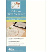 Wash-Away Stitch Stabiliser Sheets